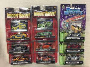 Classic Toy Cars (F&F, Import Racer, Import Tuner) for Sale in Seattle, WA