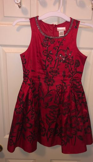 Girls red Dress with flowers for Sale in Modesto, CA