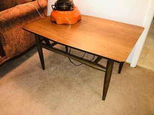 2 mid century end tables 31x20x17H for Sale in Los Gatos, CA