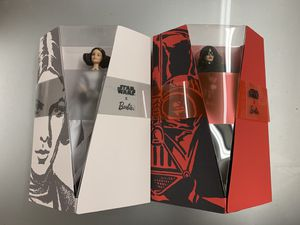 New Star Wars A New Hope Princess Leia Death Vader Barbie Signature Doll Toy Figure Bundle Set for Sale in Cerritos, CA