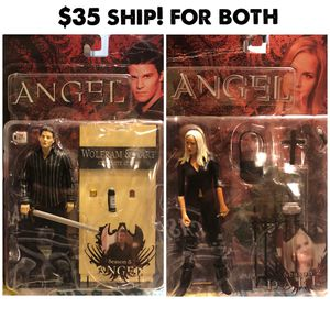 Angel action figures. Buffy the vampire slayer for Sale in Modesto, CA