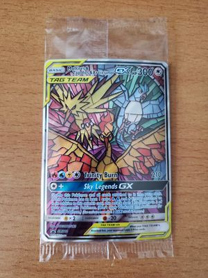 Sealed Hidden Fates Stain Glass Bird Trio GX Black Star Promo for Sale in Rutherford, NJ