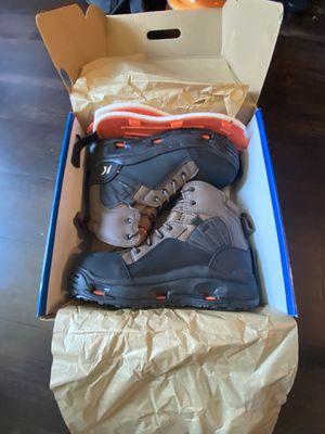 Size 10 Korkers Buckskin Wading Boots for Sale in Seattle, WA