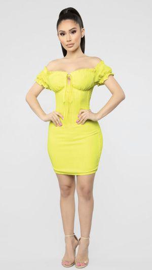 Fashion Nova Yellow Dress / Vestido for Sale in Los Angeles, CA