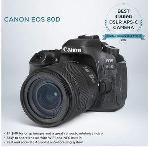 canon80D for Sale in Santa Maria, CA