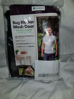 Bug Blocker Mesh Screen Door for Sale in Henderson, NV