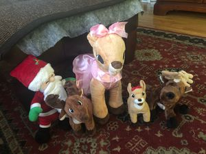 Christmas stuffed animals for Sale in Livonia, MI