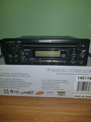 OEM Part # 39100 S02 A100 Honda Civic AM FM Radio Stereo CD Player 99 00 Civic for Sale in Gurnee, IL