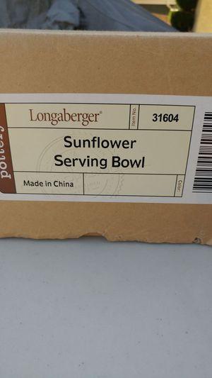 Longaberger Daisy bowel for Sale in Anaheim, CA