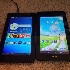 Acer iconic one 7 and Hisense sero 7 lite for Sale in Las Vegas, NV