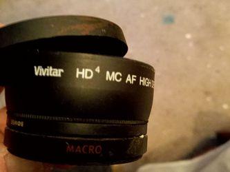 Vivitar Hd Mc Af Hi Definition .43 With Macro Japan Optics for Sale in Nellis Air Force Base,  NV