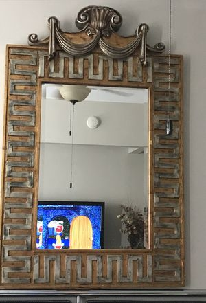 Beautiful large mirror! for Sale in Tampa, FL