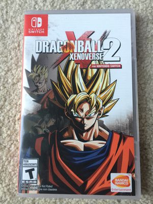 Nintendo switch dragon ball 2 xenoverse for Sale in San Diego, CA
