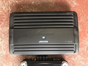 Alpine MRP-M1000 car amplifier for Sale in Tomball, TX