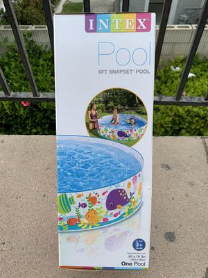 New pool 6ft wide brand new $30 each easy Snapset pool new in box for Sale in La Mirada, CA