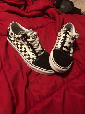 Checkered Men Vans 10.0 for Sale in Greer, SC