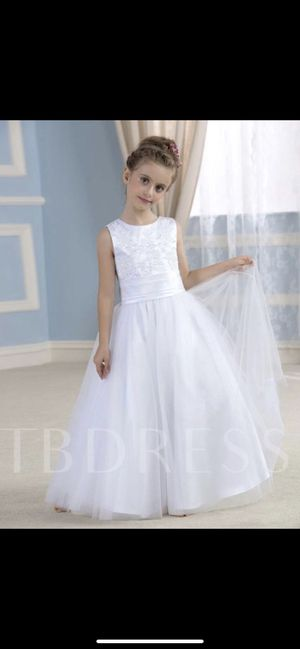 Brand new FLOWER GIRL dress size 10 for Sale in Vancouver, WA