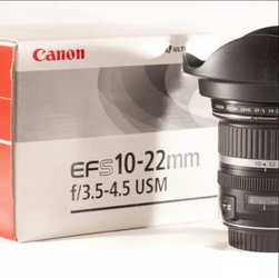 Canon EF-S 10-22mm f/3.5-4.5 USM for Sale in Moreno Valley,  CA