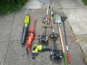 Landscaping, power tools etc pkg deal for Sale in Philadelphia, PA