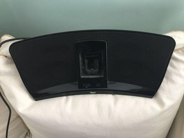 Klipsch speaker with remote for ipod nano