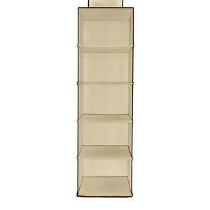Organizer Clodet 6 Shelf Beige for Sale in Las Vegas, NV