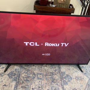 "43"" 4K TCL/Roku TV for Sale in Crofton, MD"