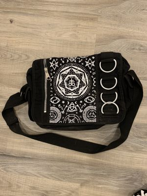 Black 'Banned' messenger bag for Sale in Tacoma, WA