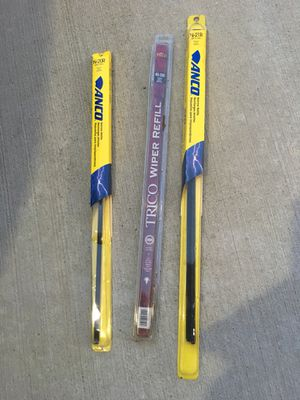 3 pictured Windshield wiper blades for Sale in Houston, TX