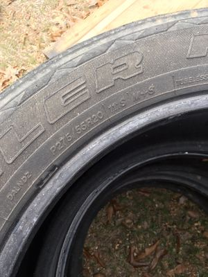P275/255R20. Use tires $150.00 or best offer for Sale in West Monroe, LA