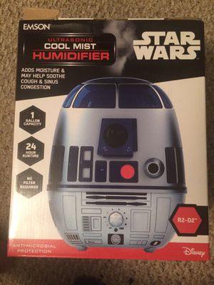 Star Wars Disney ultrasonic humidifier R2D2 1 gallon NIB for Sale in Broken Arrow, OK