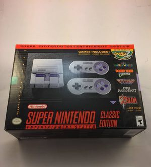 2017 Super Nintendo Classic Edition NES CLV S SNSG USZ for Sale in New York, NY