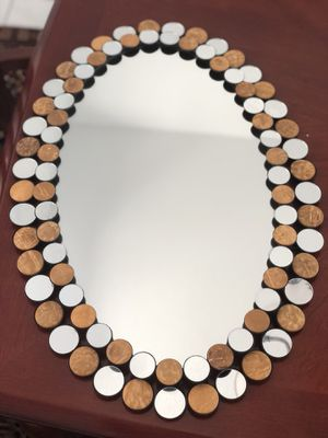 Decorative wall mirror set of 2 for Sale in San Diego, CA