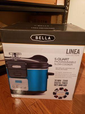 Bella Linea Programmable Slow Cooker - 5 Qt. for Sale in Brooklyn, NY
