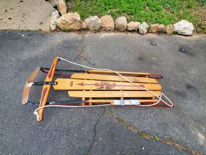 Antique sled for Sale in Manassas, VA
