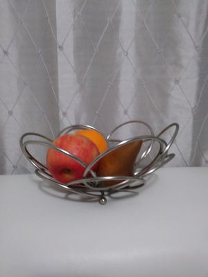Stainless Steel Fruit Bowl for Sale in Nashua, NH
