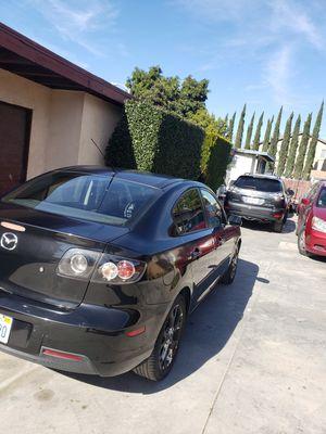 Vendo Mazda 3 2008 en buenas condiciones titulo salvage con placas al dia no tienen ningun problema mecanico con 178 mil millas for Sale in Phillips Ranch, CA