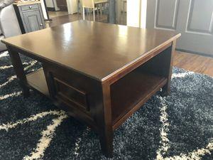 Dark Brown Coffee Table for Sale in Oceanside, CA