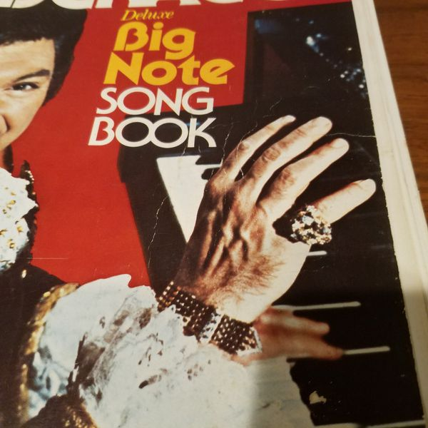 Liberace Deluxe Big Note Song Book over 150 songs