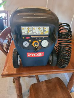 Ryobi 3 Gal Air Compressor w/ Nailgun for Sale in Willow Street,  PA