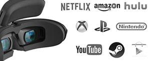 Goovis g2 cinego 4k viewer VR tv for Sale in Seattle, WA