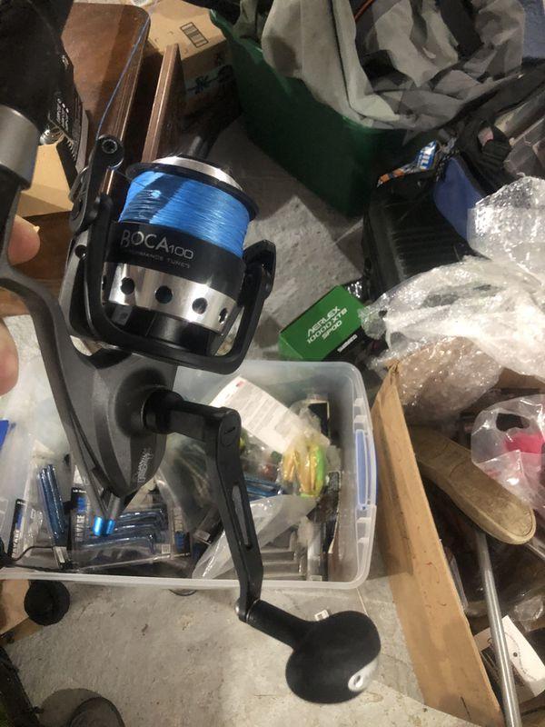 Saltwater Fishing reels shimano daiwa okuma penn tsunami and more for stripper bluesstripper blues tuna Sharks and more most brand new in box