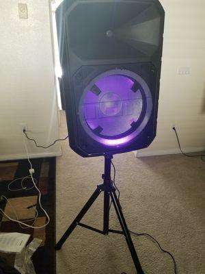 Karaoke, wireless speaker, bluetooth, really loud :) for Sale in Lemon Grove, CA