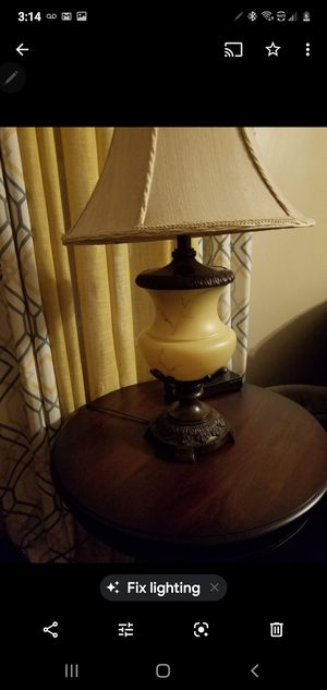 Lamps in new condition for Sale in The Bronx, NY