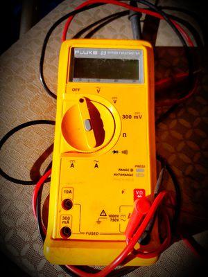 Fluke Multimeter 23 Ii Multimeter for Sale in Woodbridge, VA