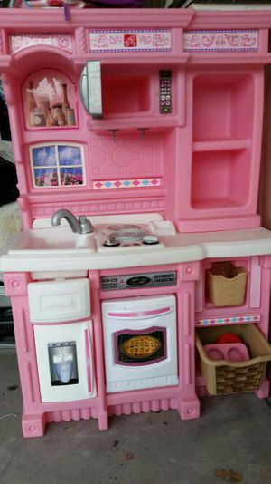 Play kitchen set for Sale in Rio Rancho, NM