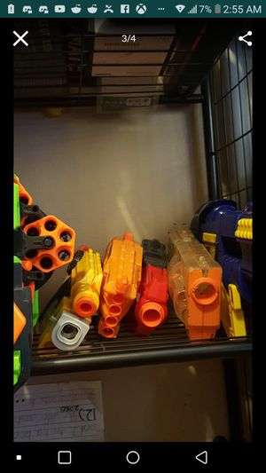 20-30 nerf guns for Sale in Clinton Township, MI
