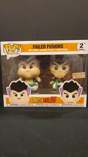 FAILED FUSIONS DRAGONBALL Z EXCLUSIVE FUNKO POP 2 PACK for Sale in Anaheim, CA