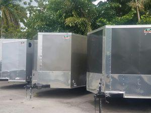 7 x 16 TA enclosed trailer 2019 NEW for Sale in Miami, FL
