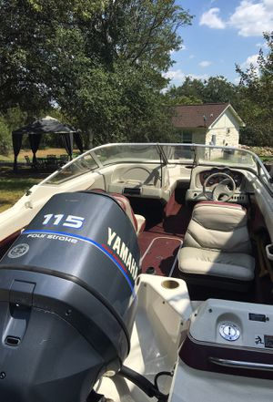 Maxum 17 foot boat with trailer for Sale in MORGANS POINT, TX