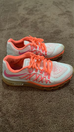 Air max 2015 white hot lava pink for Sale in Canton, OH